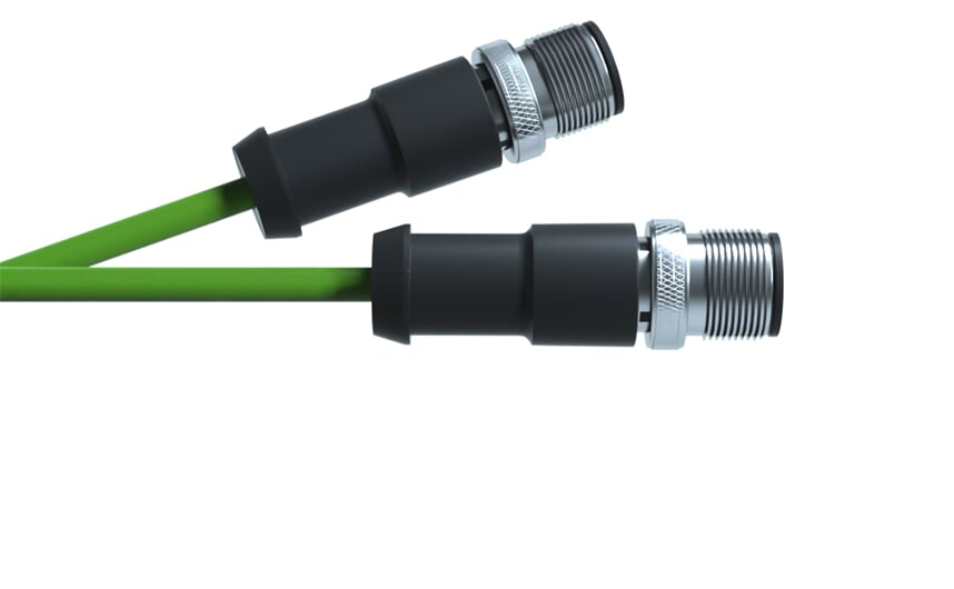 Ethernet cable M12 - M12
