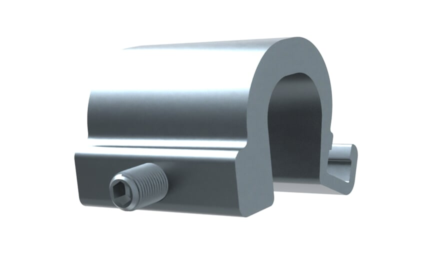 Adapter tie rod/integrated profile cyinder