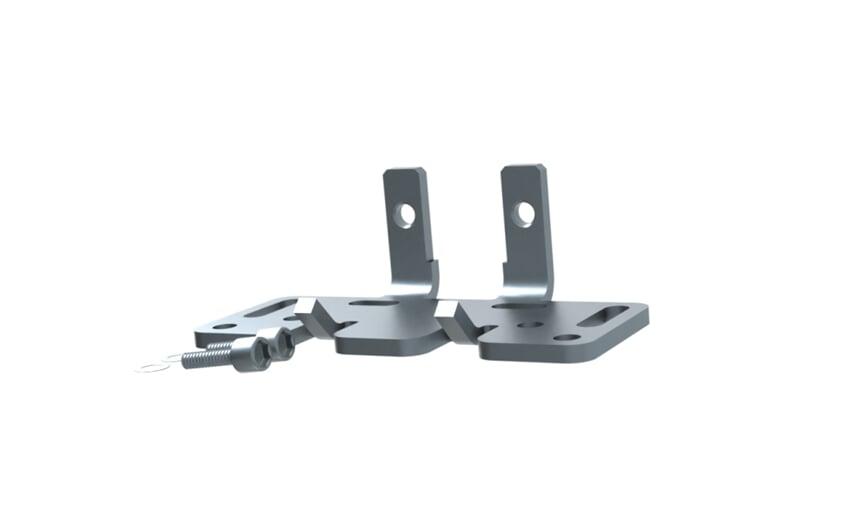 Angle bracket - comp. with SICK W12/W18