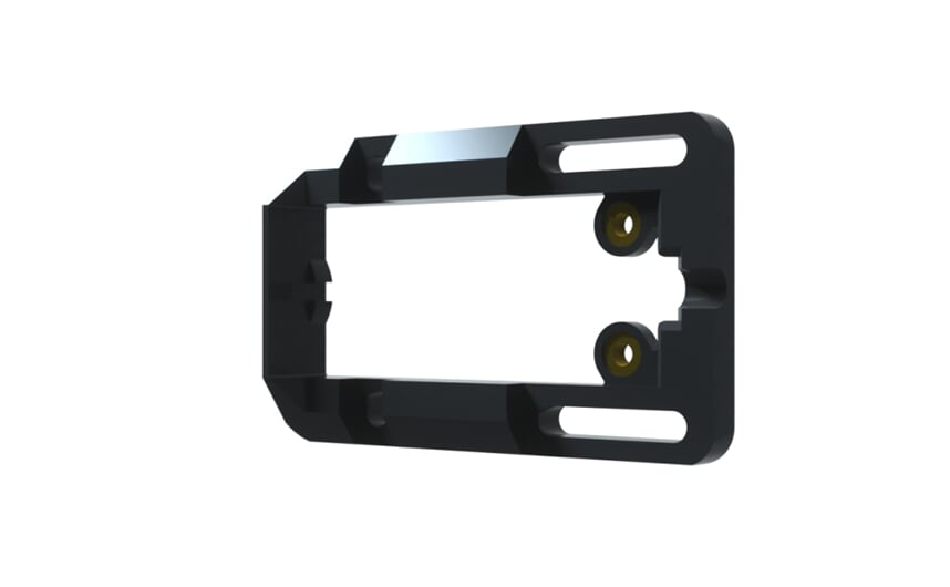 Mounting adapter for pipe and tube mounting
