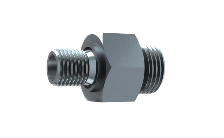 Adapter M18x1.5 G1/4M 13.5 mm