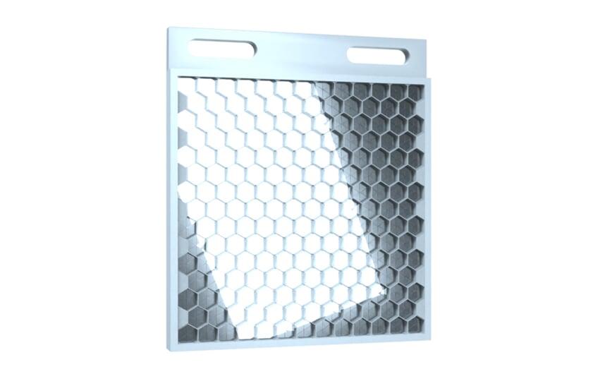 Prismatic reflector 48x48 mm
