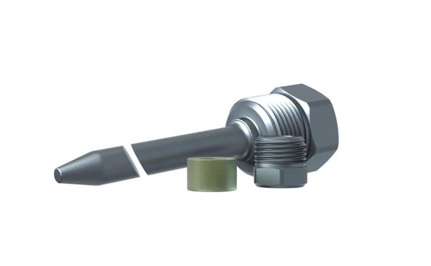 Thermowell 100 mm G1/2M
