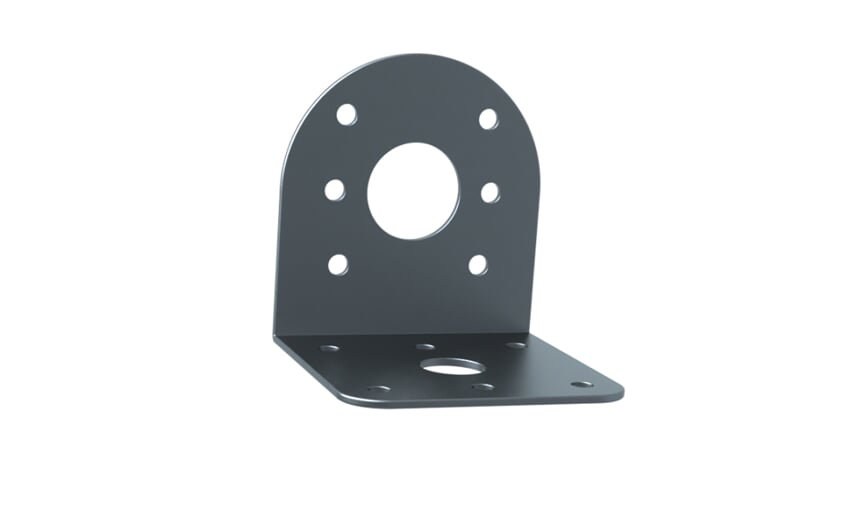 Mounting bracket for wall mounting