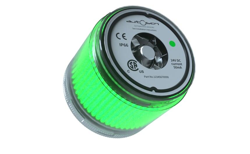 LED stack light 24 VDC green