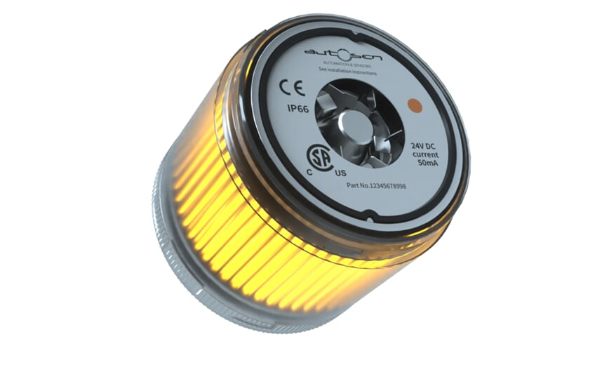 LED stack light 24 VDC orange