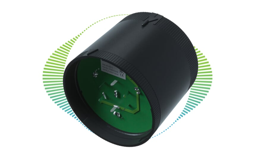 Buzzer for LED signal lamp