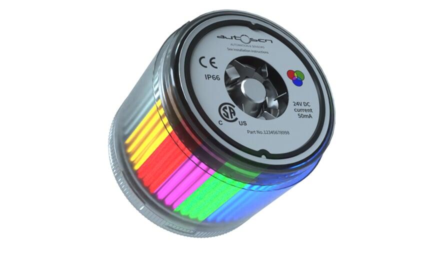 LED stack light 24 VDC RGB