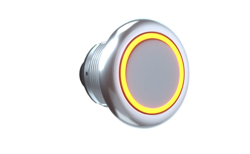 Stainless steel capacitive touch sensor IP69K