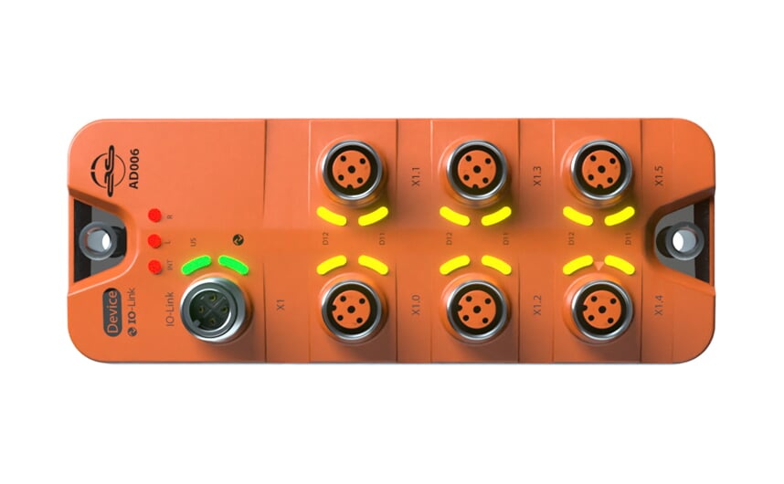 IO-Link input module for binary signals