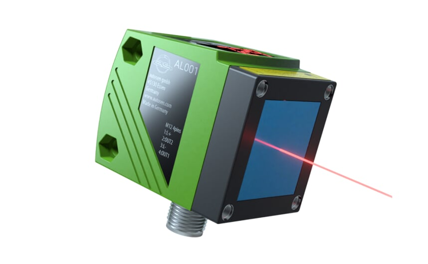 Laser distance sensor ultra performance