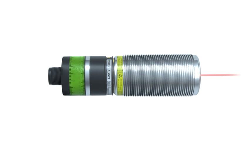 Laser distance sensor M30x1.5 metal thread