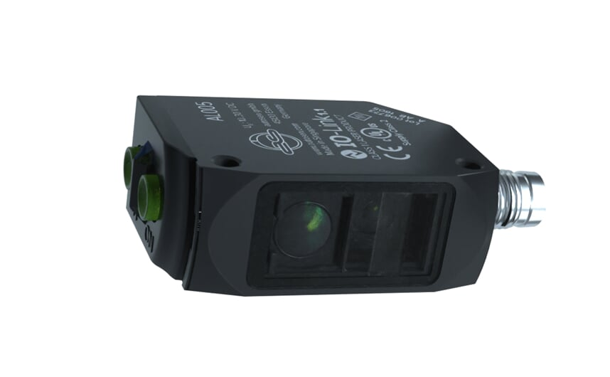 Laser diffuse reflection sensor with PA housing