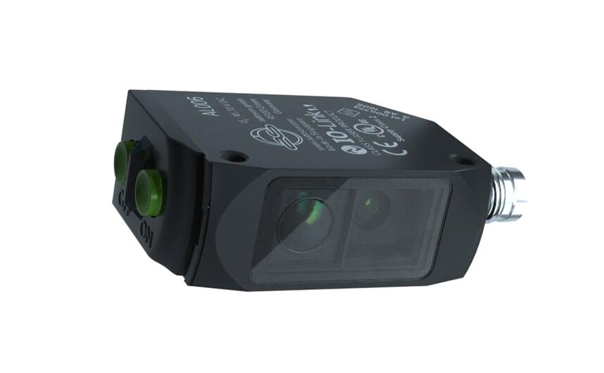 Laser retro-reflective sensor with PA housing