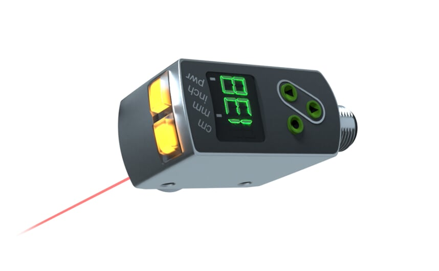 Laser distance sensor ultra precision