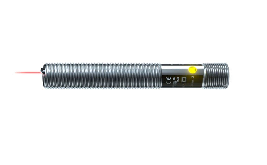 Through-beam sensor M12x1 metal thread
