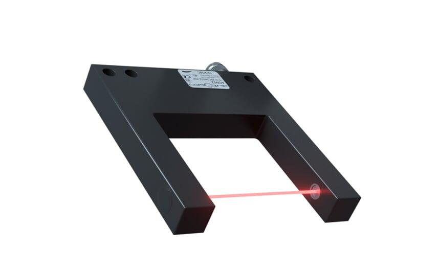 Photoelectric fork sensor, Fork width 50 mm