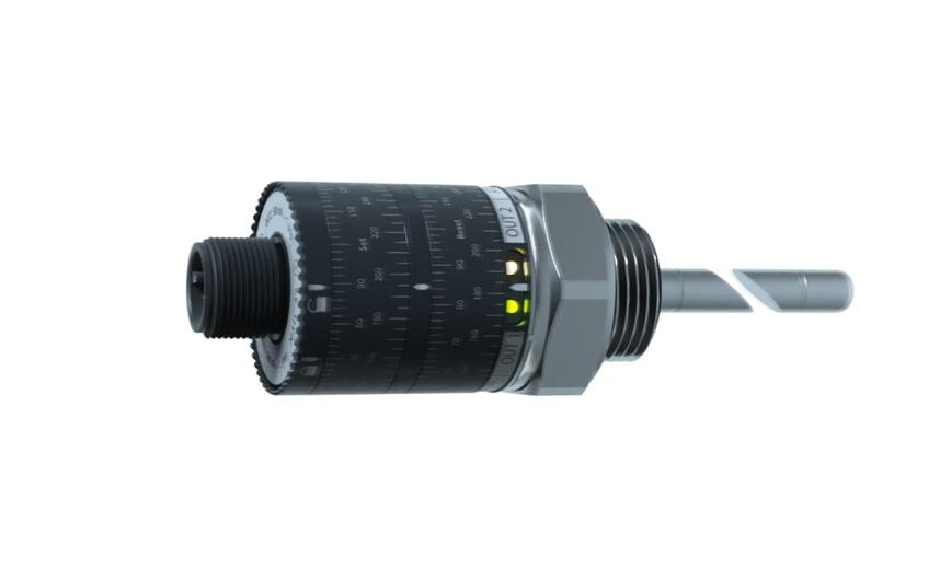 Electr. temperature sensor G1/2M 267 mm