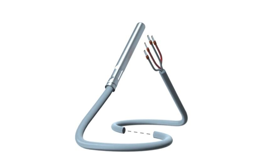Cable temperature sensor PT100