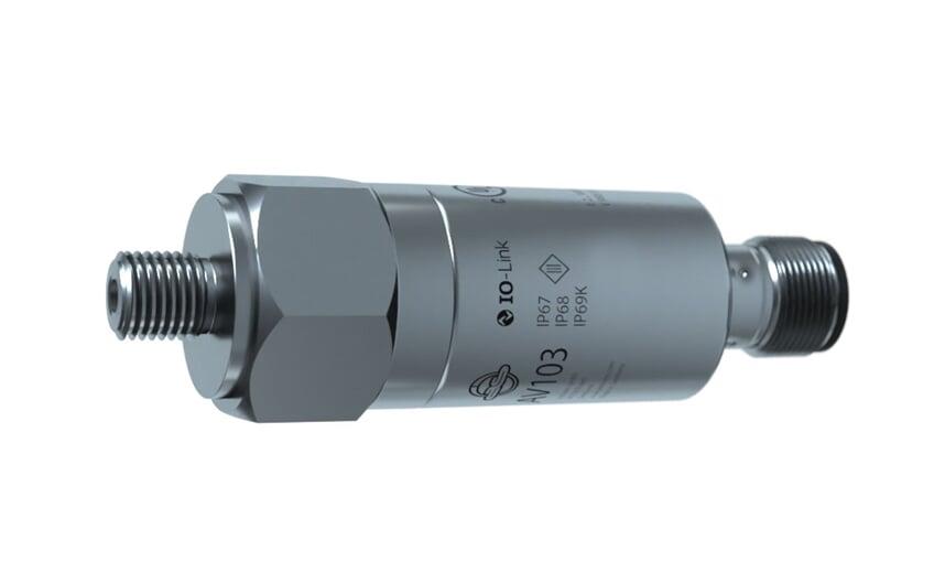 Vibration sensor with IO-Link ISO10816