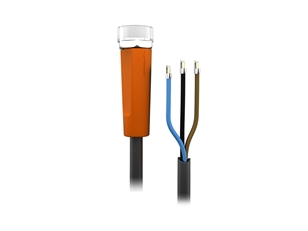 Sensor cable 5 m PUR M8 3-pole IP69k