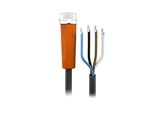Sensor cable 2 m PUR M8 4-pole IP69k