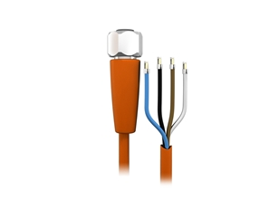 Sensor cable 5 m PVC M12 4-pole IP69k