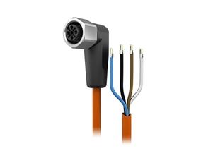 Sensorleitung 25 m PVC M12 4Pol IP69k
