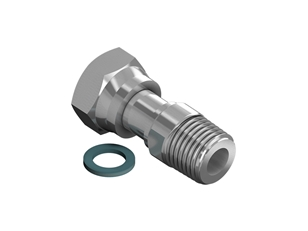 Adapter G1/2F R1/2M flat seal