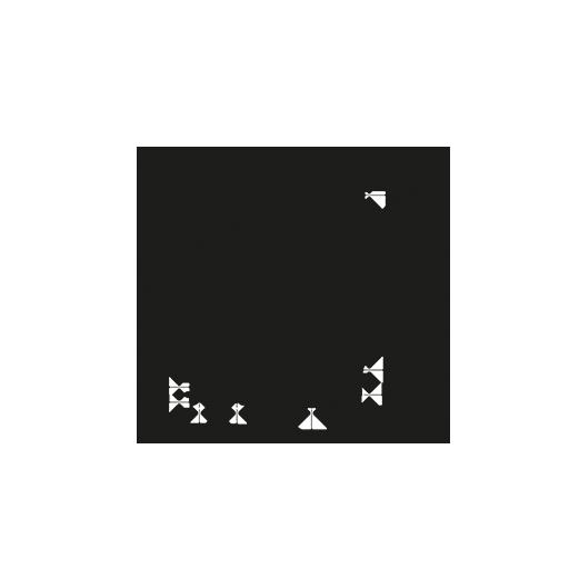 Prismatic reflector 48x48 mm - AA951 | autosen