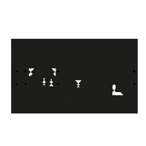 Through beam sensor receiver ØM12 - AO012 | autosen