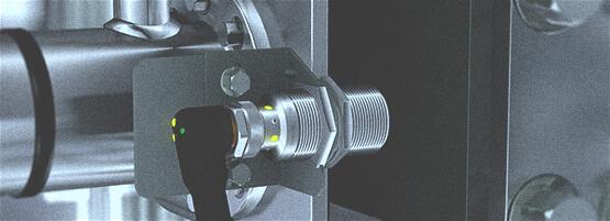 Induktiver Sensor im Einsatz